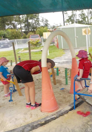 Outdoor Play - Bush Kidz Child Care Centre Brassalls