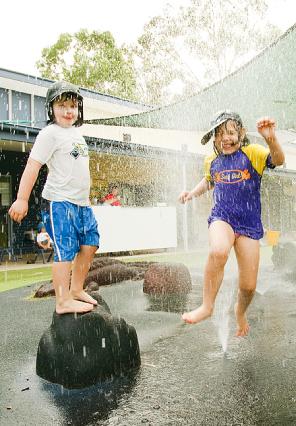 Water Play for Kids Bush Kidz Child Care Centre Brassall